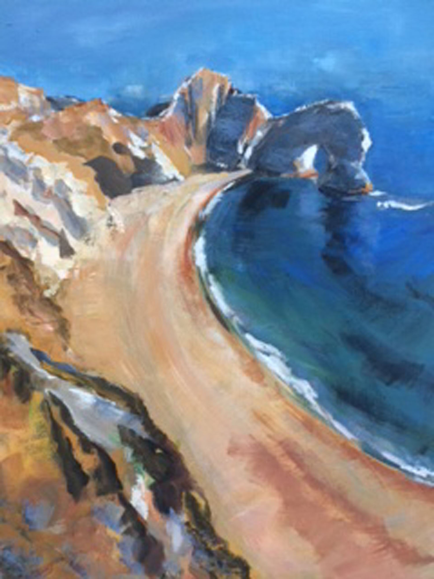Durdle Door, Acrylic